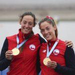 Antonia y Melita Abraham ganan medalla de oro en el remo de Lima 2019