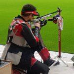 Anyelo Parada ocupó el décimo lugar en el tiro al blanco de Lima 2019