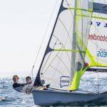 Benjamín y Exequiel Grez finalizaron quintos en la vela de Lima 2019