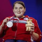 Camila Campos ganó medalla de plata en el Para Powerlifting de Lima 2019