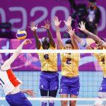 Chile cayó ante Brasil y terminó en el cuarto lugar del volleyball en Lima 2019