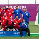 Chile se quedó con la plata por equipos en el tiro con arco de Lima 2019