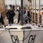 Chile lidera la clase lightning tras nueva jornada de la vela en Lima 2019