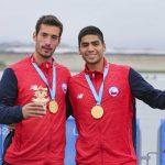 Christopher Kalleg e Ignacio Abraham ganan medalla de oro en el remo de Lima 2019