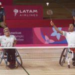 Constancio Cancino y Jaime Aránguiz finalizaron en el cuarto lugar del Para Bádminton en Lima 2019
