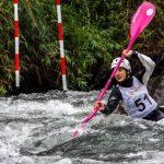 Este viernes fue el debut de Chile en el canotaje slalom de Lima 2019