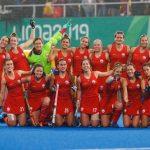 """Las """"Diablas"""" derrotan a Uruguay y avanzan a semifinales del Hockey Césped en Lima 2019"""