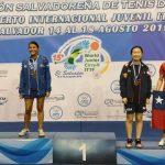 Tenimesistas nacionales realizaron una gran actuación en el Open Junior y Cadete de El Salvador