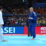 Francisco Solís cayó en la segunda ronda del Mundial de Judo