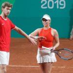 Tenistas nacionales avanzan en singles varones, dobles damas y dobles mixtos de Lima 2019