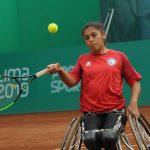 Macarena Cabrillana, Alexander Cataldo y Diego Pérez debutaron con triunfos en el tenis en silla de ruedas de Lima 2019