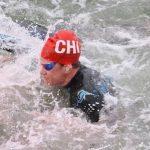 Mahina Valdivia finalizó decimotercera en la natación en aguas abiertas de Lima 2019