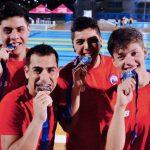 Chile logra dos nuevas medallas en el Panamericano de Natación con Aletas