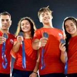 Chile suma nuevas medallas en el Panamericano de Natación con Aletas