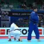 Thomas Briceño cayó en la primera ronda del Mundial de Judo