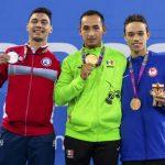 Vicente Almonacid ganó medalla de plata en la Para Natación de Lima 2019