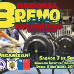 Este sábado se realizará el Nacional de Remo Ergómetro en Valdivia