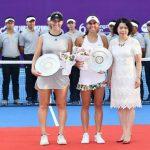 Alexa Guarachi se quedó con el vicecampeonato de dobles del WTA de Guangzhou