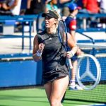 Alexa Guarachi juega este sábado su partido de la primera ronda de dobles del WTA de Cincinnati