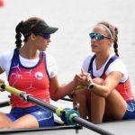 Antonia y Melita Abraham finalizaron en el lugar doce del Mundial de Remo