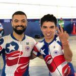 Antonio Cabrera y Matías Arriagada ganaron medalla de bronce en el Panamericano de Ciclismo de Pista