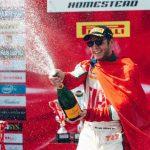 Benjamín Hites logra un nuevo triunfo y aumenta sus opciones al título del Ferrari Challenge