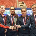 Chile ganó medalla de bronce por equipos femenino en el Panamericano de Tenis de Mesa