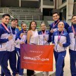 Tres medallas obtuvo la delegación chilena en el Sudamericano de Gimnasia Aeróbica