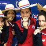 Equipos nacionales femeninos de florete y espada logran el título sudamericano de esgrima
