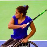 Macarena Cabrillana cerró su actuación en el Toyota Open tras caer en semifinales