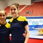 Daniela Ortega y Paulina Vega ganan medalla de plata en el cierre del Panamericano de Tenis de Mesa