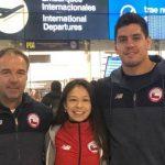 Thomás Briceño y Mary Dee Vargas viajaron a torneos de judo en Uzbekistán y Brasil