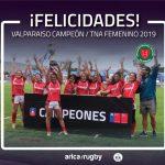 Valparaíso ganó la segunda fecha del Torneo Nacional de Asociaciones de Rugby Femenino
