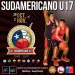 Chile jugará en el Grupo B del Sudamericano Sub 17 de Básquetbol Masculino
