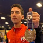 Ignacio Morales ganó medalla de plata en la Copa Presidente de Taekwondo