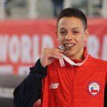 Iván Carrasco ganó medalla de bronce en el Mundial Cadete, Junior y U21 de Karate
