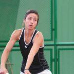 Ivania Martinich se retiró en las semifinales del W15 de Bogotá