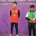 Chile ganó dos oros y tres bronces en fecha mexicana de la Liga Mundial Juvenil A1 de Karate