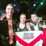 Daniela Asenjo conquistó el cinturón latinoamericano súper mosca de la OMB