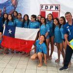 Chile se quedó con el título femenino en la Copa Pacífico U15 de Waterpolo