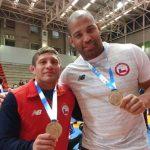 Cristóbal Torres y Yasmani Acosta ganaron medalla de oro en el cierre del Sudamericano de Lucha Olímpica