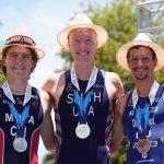 Diego Moya y Macarena Salazar logran el segundo lugar en el CAMTRI Triathlon American Cup de Formosa