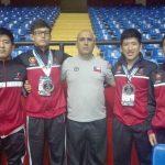 Chile ganó dos medallas de bronce en la primera jornada del Panamericano U15 de Lucha Olímpica