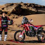 José Ignacio Cornejo fue presentado oficialmente como piloto HRC para el Dakar 2020