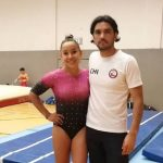 Makarena Pinto logró el quinto lugar en la final de salto en Cottbus y sumó valiosos puntos para Tokio 2020