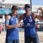 Primos Grimalt avanzaron a cuartos de final en la fecha mexicana del World Tour de Volleyball Playa