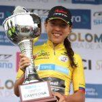 Aranza Villalón es la nueva campeona de la Vuelta Ciclista Femenina a Colombia