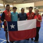 Chile sumó seis nuevas medallas en el cierre del Sudamericano Adulto y Juvenil de Bádminton