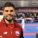 Rodrigo Rojas obtuvo el quinto lugar en el Karate1 Premier League de Madrid