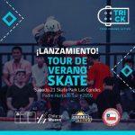 Este sábado se lanzará el Tour Nacional de Verano de Skate